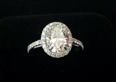 Beautiful Oval cut diamond